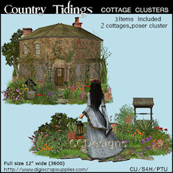 Country tidings spring clusters