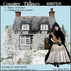Winter Tidings Cluster & Poser