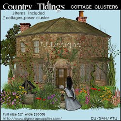 Country tidings spring cottage