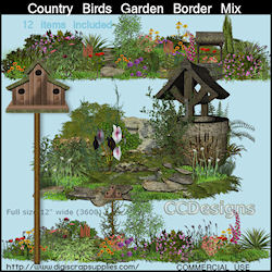 Country cottage cluster mix