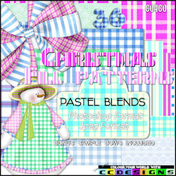 Pastel blends pattern preset pack