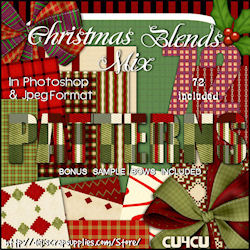 72 christmas vlend pattern pack