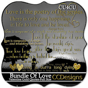 Gold valentine quotes cu4cu