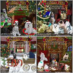 Holiday Pets scrap