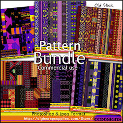 Pattern bundle PS -Jpegs 99cents