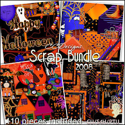 Halloweeen Scrap Bundle 99cents