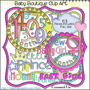 Baby Boutique Clipart