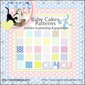 Babycake patterns