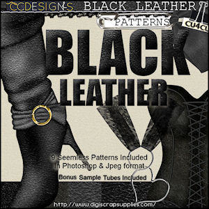 Blac leather patterns