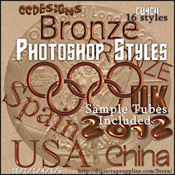 Bronze Copper PS Styles