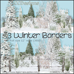 Winter borders png's