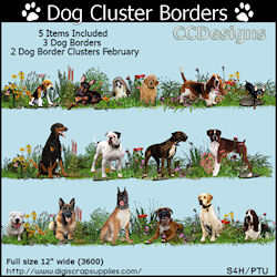 Dog cluster borders