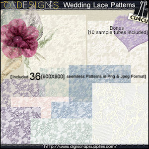Lace wedding patterns