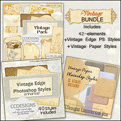 Vintage Bundle Tubes two sets of styles