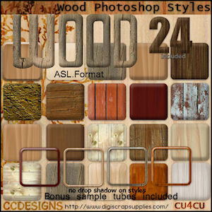wood ps styles