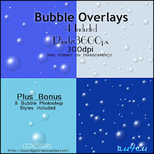 Bubble -Overlays