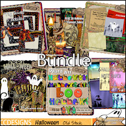 Bundle 2009 Halloween $1.20