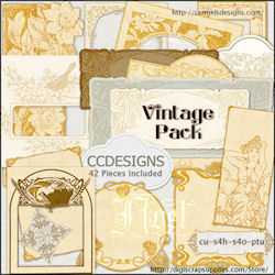 Vintage  Collections Cu Elements